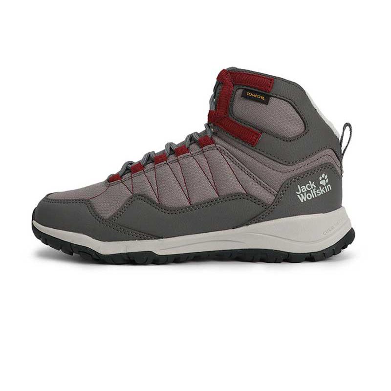 狼爪 Jack wolfskin 女子 户外运动缓震防滑耐磨越野鞋徒步鞋 4035651-6123