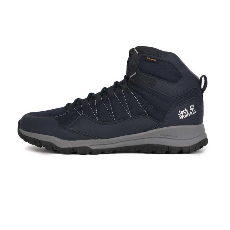 狼爪 Jack wolfskin  男子户外运动鞋越野耐磨透气慢跑鞋徒步鞋 4035631-1168