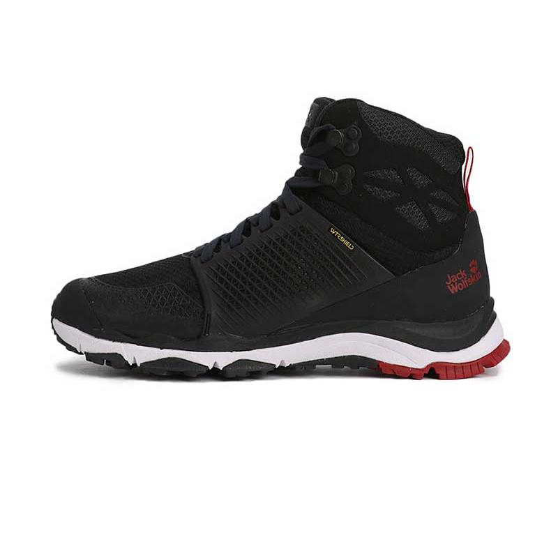 狼爪 Jack wolfskin  男子 户外运动鞋越野耐磨透气跑步鞋徒步鞋 4035421-6360