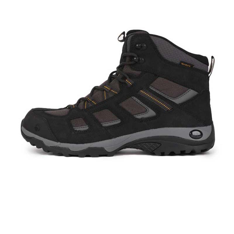 狼爪 Jack wolfskin 男子 户外运动鞋徒步越野舒适耐磨透气时尚高帮休闲鞋登山鞋 4032371-6350