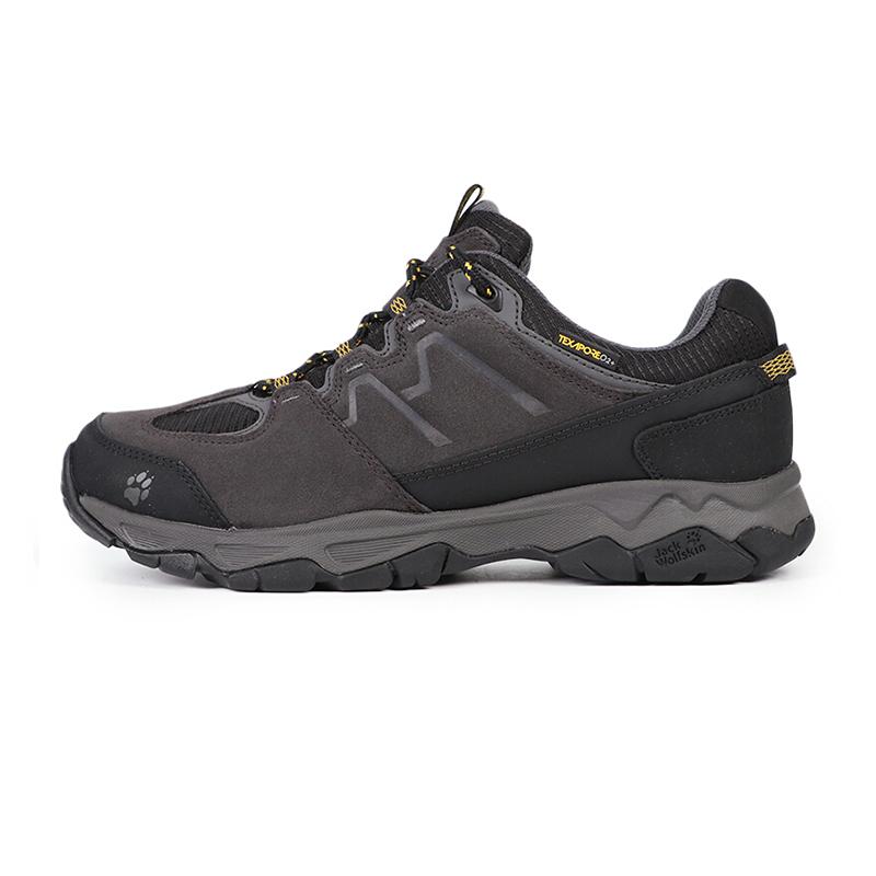 狼爪 jackWolfskin  男子 户外登山鞋透气低帮徒步鞋越野鞋 4017582-1588