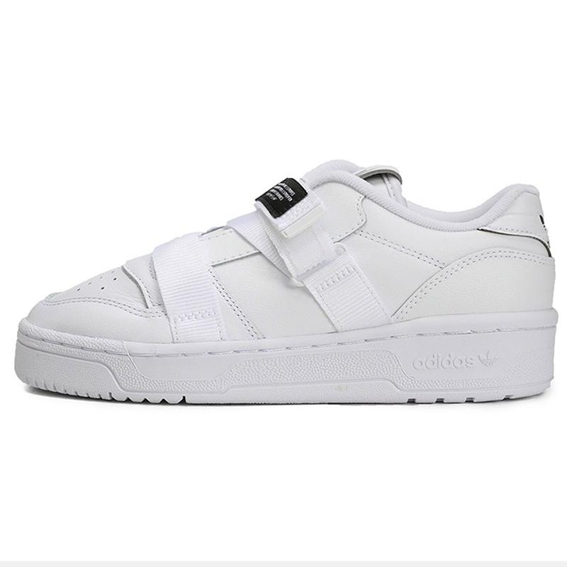 阿迪达斯三叶草 adidas 女鞋 RIVALRY LOW STRAP女魔术贴休闲运动鞋 EF6428