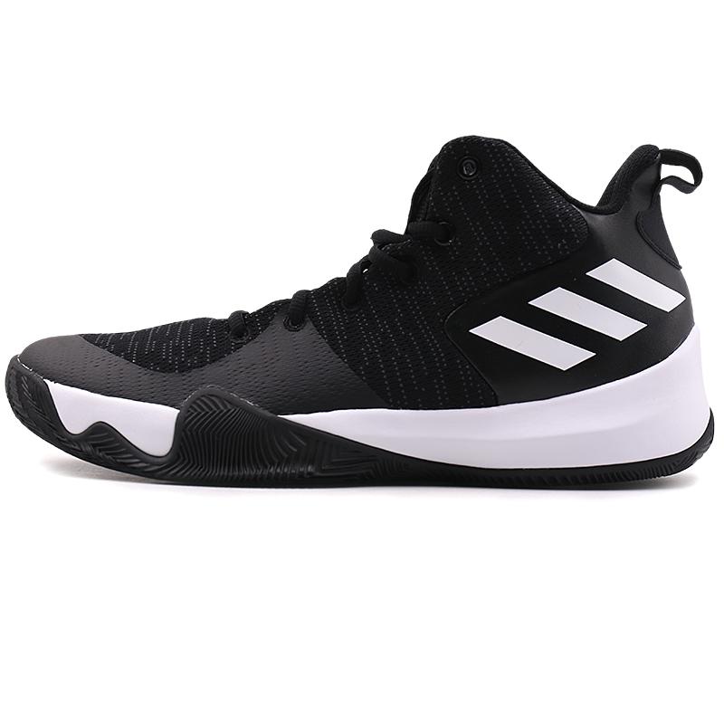 阿迪达斯男鞋2019春季 运动鞋耐磨防滑场上实战篮球鞋CQ0427