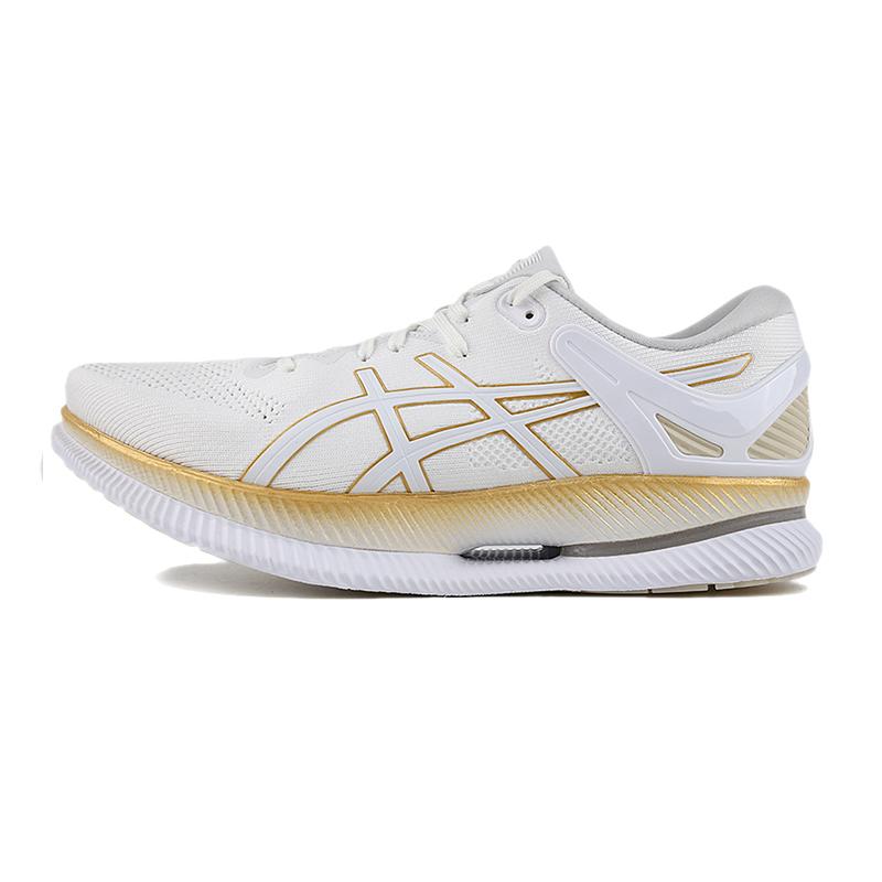 亚瑟士 ASICS  女鞋 MetaRide高端限量 缓冲稳定透气运动鞋 专业马拉松跑步鞋 1012A130-100