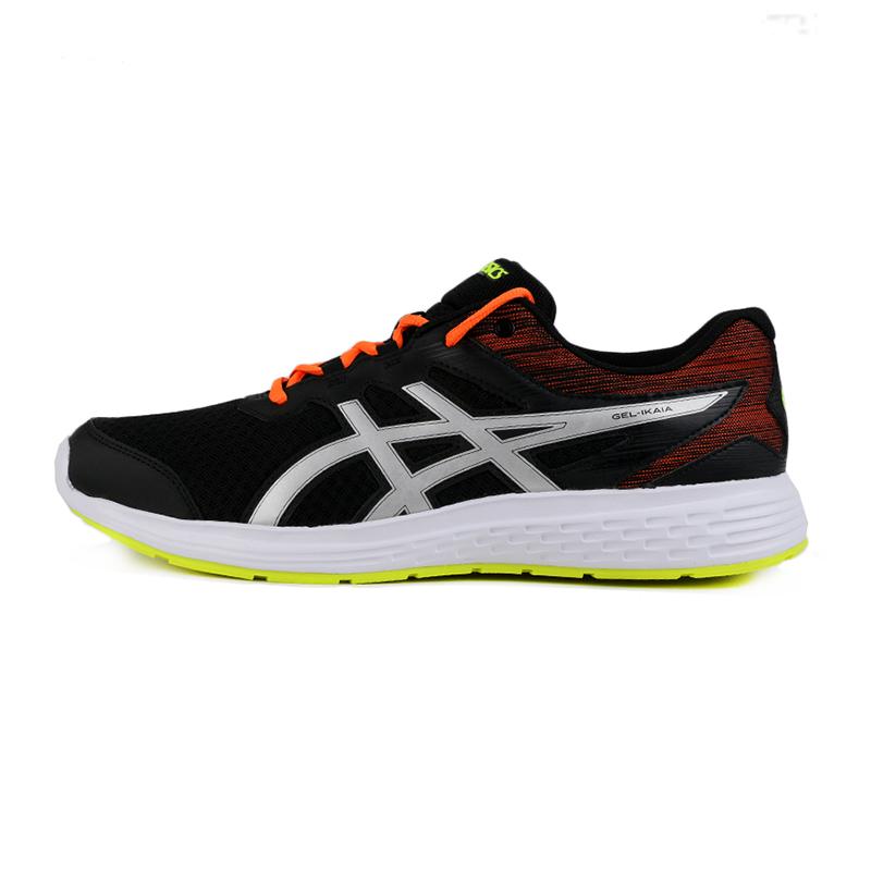 亚瑟士 ASICS GEL-IKAIA 9 男鞋 运动鞋轻便耐磨防滑舒适时尚休闲慢跑跑步鞋 1011A800-001
