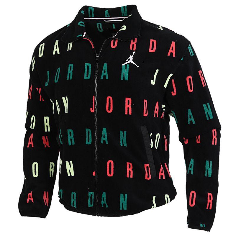 耐克NIKE J SPRT DNA HBR FLC AOP FZ 男装 长袖保暖透气舒适外套 CT3571-010