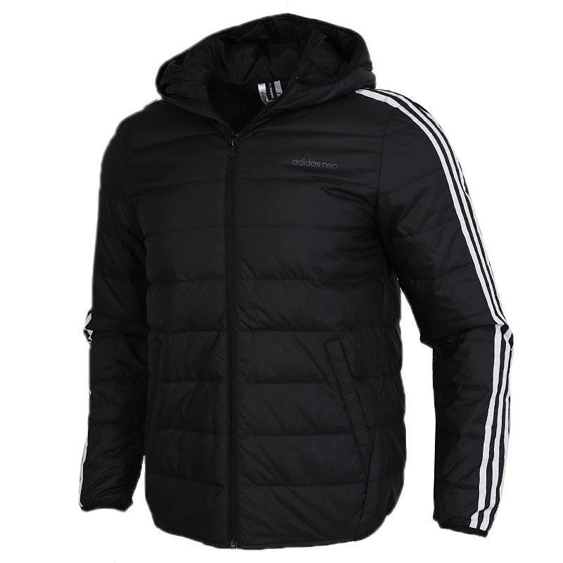 顺丰包邮 阿迪达斯生活Adidas NEO 男装 2020冬季新款运动保暖防风羽绒服 GJ8784