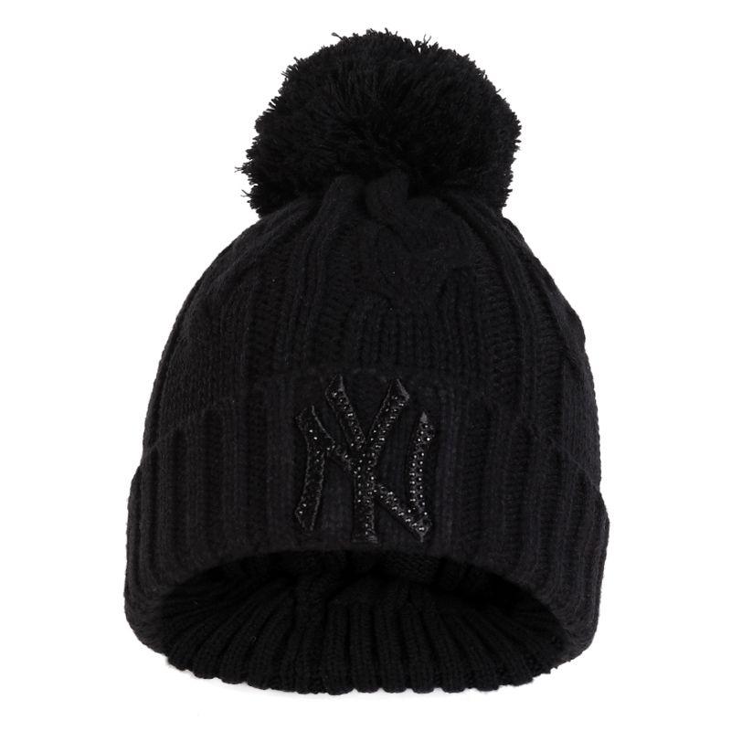 MLB 美职棒男女帽子 潮流时尚洋基队毛线帽保暖休闲帽 32CPBR-50L