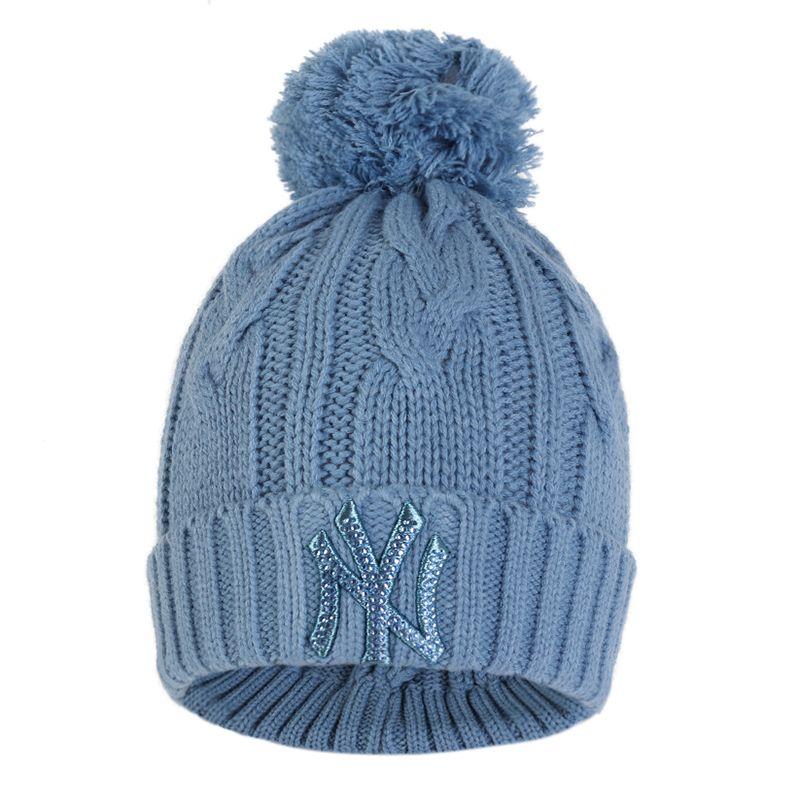 MLB 男女帽 毛线帽针织帽保暖运动帽 32CPBR-50S
