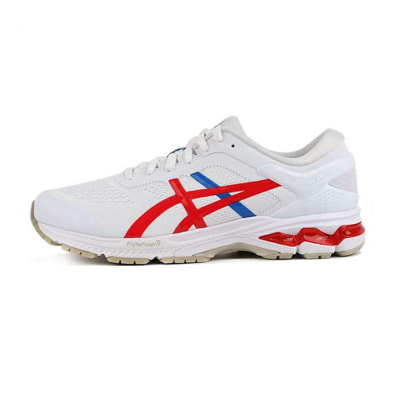 亚瑟士 GEL-KAYANO 26 男鞋 轻便透气舒适耐磨防滑时尚休闲运动跑步鞋 1011A771-100