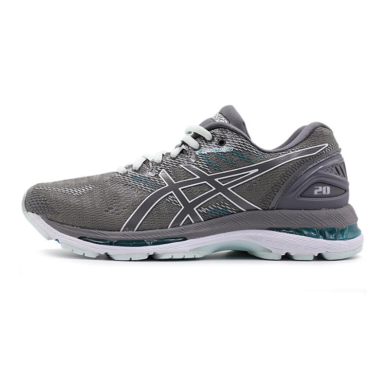 亚瑟士女鞋 春新品运动鞋GEL-NIMBUS 20 缓冲跑步鞋T850N-020
