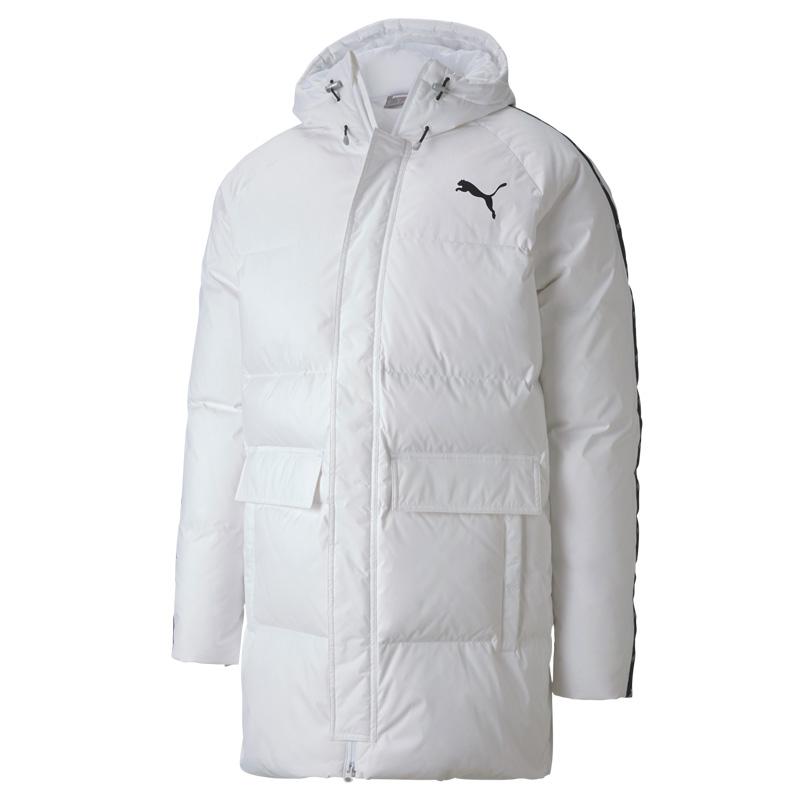 彪马PUMA Solid Down Coat 男装 运动保暖连帽羽绒服 585513-02