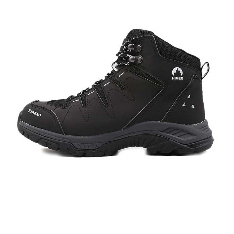 探路者 TOREAD 女子 运动鞋户外耐磨徒步爬山高帮登山鞋 HFBF92005-G01G