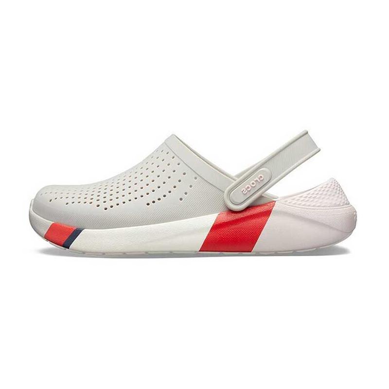 Crocs 卡骆驰 中性 QC新款透气洞洞鞋克骆格沙滩运动凉鞋拖鞋 205627 205627-115 205627-37P