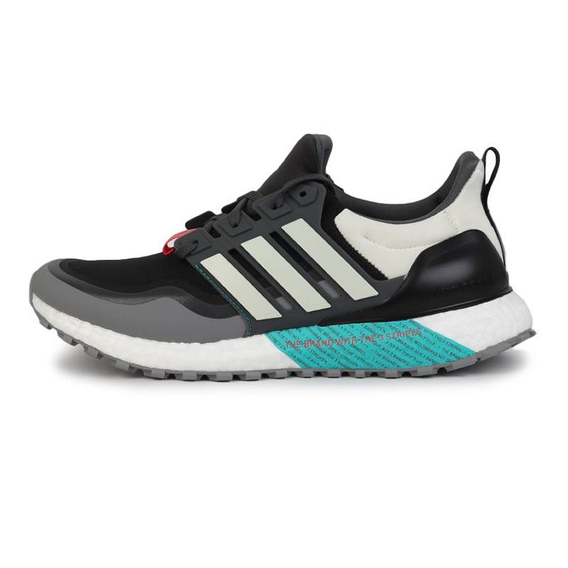 阿迪达斯 adidas  男女 UltraBOOST曼联联名运动休闲跑步鞋 EG8099