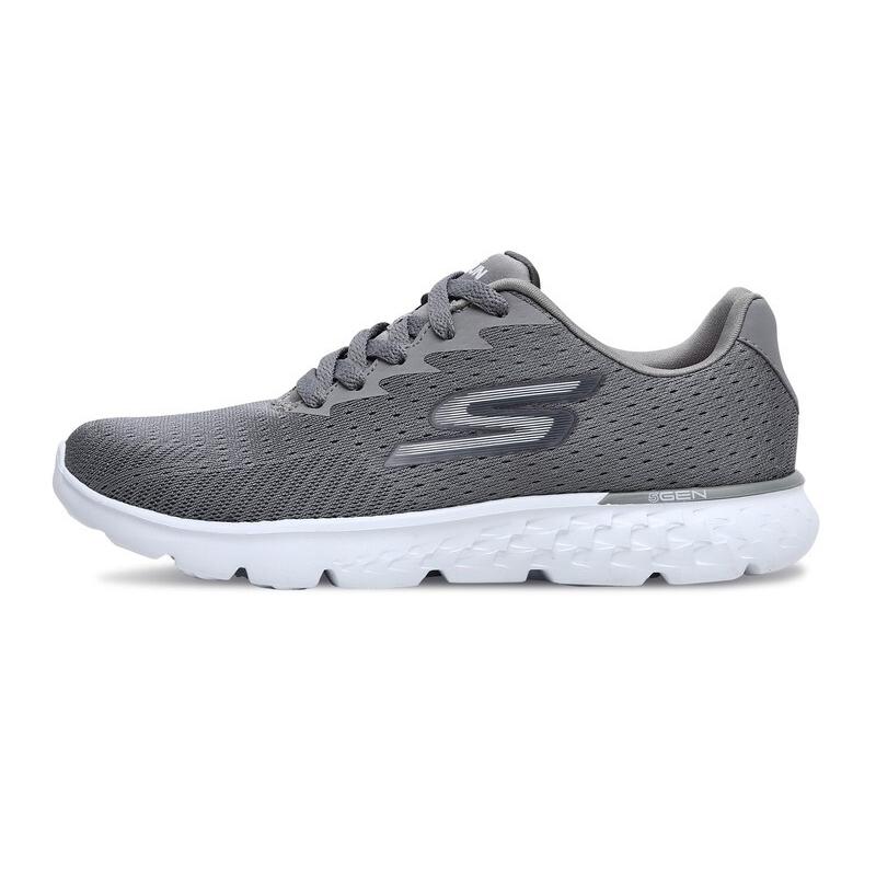 斯凯奇Skechers 女子运动休闲轻便耐磨跑步鞋14804-GRY