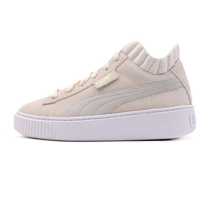 彪马 PUMA Platform Demi Wn's 女子 舒适透气松糕鞋增高厚底潮流运动鞋时尚网红休闲鞋 366717-02