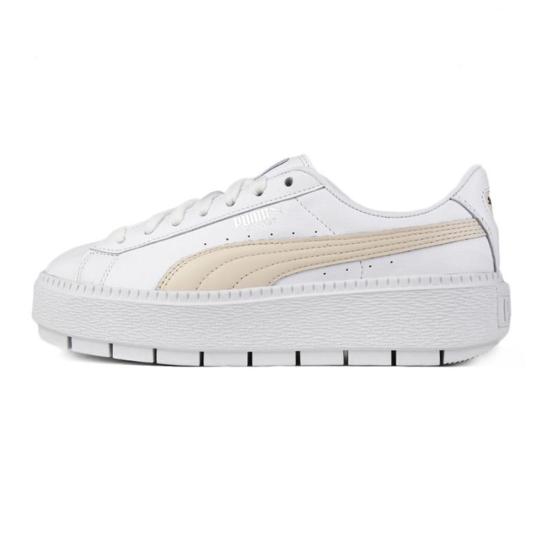 彪马 PUMA Platform Trace L  女子 蕾哈娜厚底松糕鞋复古时尚耐磨舒适透气休闲鞋板鞋 366109-04
