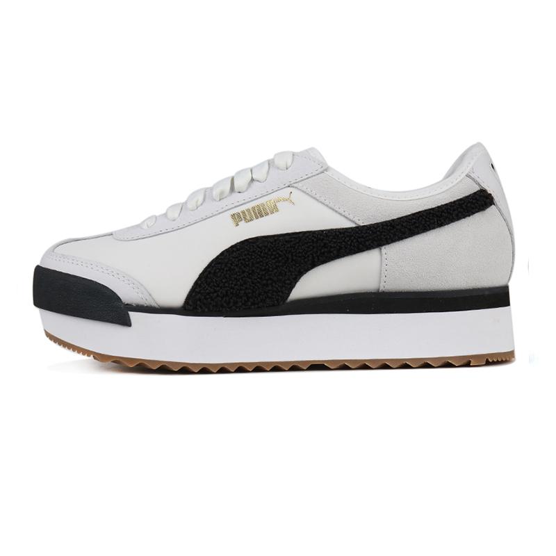 彪马 PUMA Roma Amor Heritage  女子 舒适透气增高低帮休闲鞋板鞋 370947-01