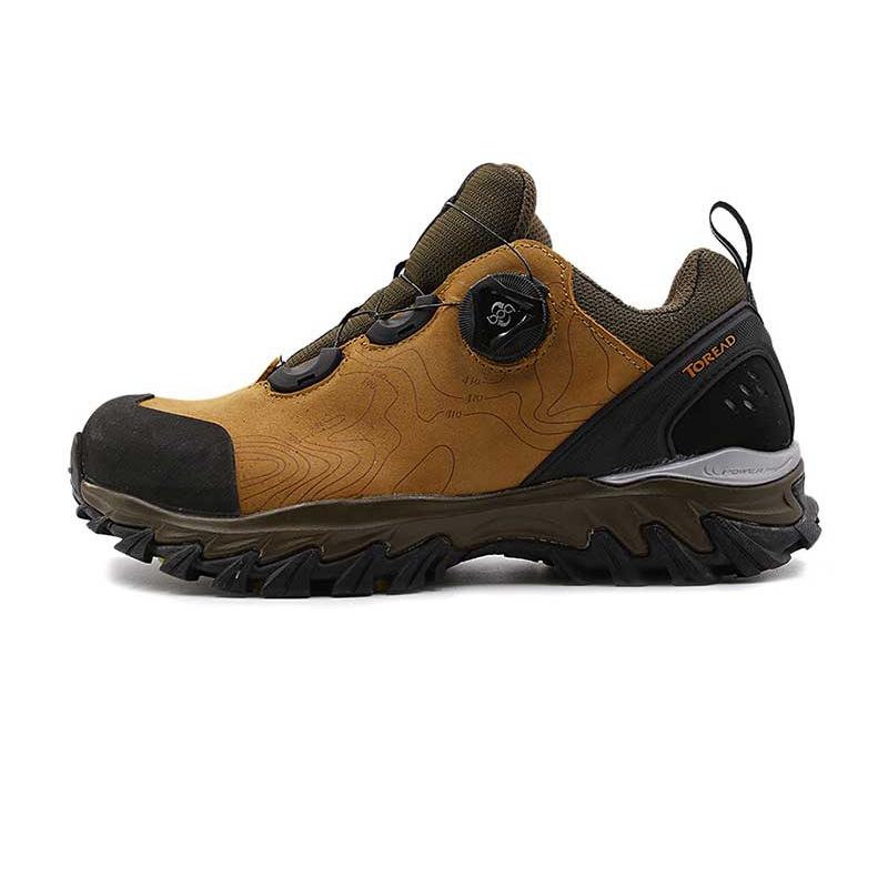 探路者女鞋 秋冬款户外运动鞋耐磨减震徒步鞋登山越野跑步鞋KFAF92304-B19D
