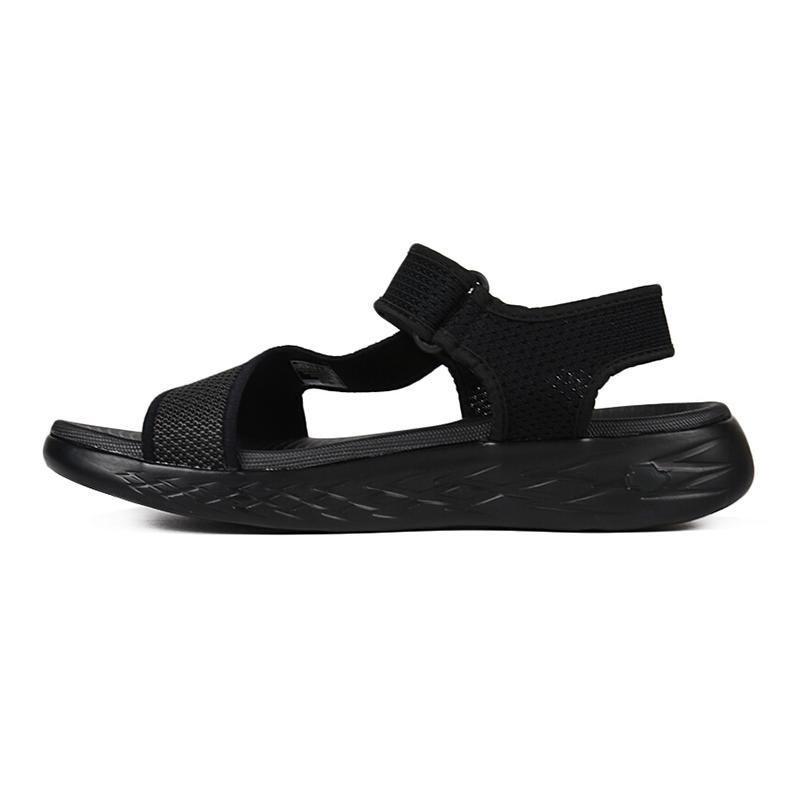 斯凯奇Skechers 男子 运动鞋轻便魔术贴凉鞋拖鞋舒适缓震沙滩鞋54265-NVGY