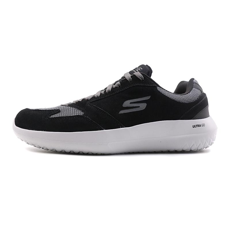 斯凯奇Skechers男子  复古时尚低帮鞋休闲运动鞋18542-BKCC