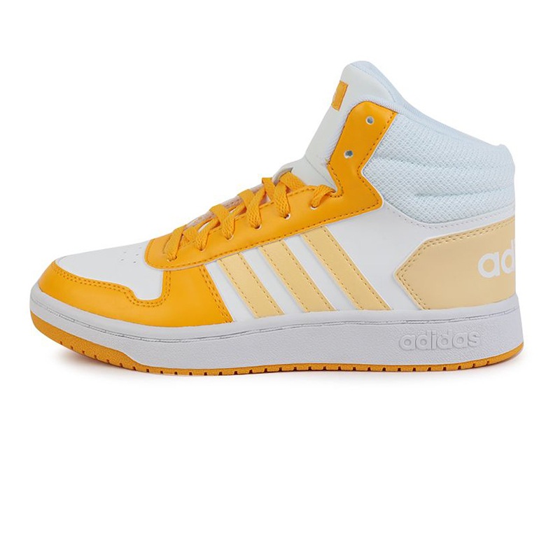 阿迪达斯生活Adidas NEO HOOPS 2.0 MID 女鞋 运动轻便复古休闲鞋板鞋 G55054