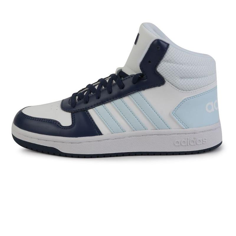 阿迪达斯生活Adidas NEO HOOPS 2.0 MID 女鞋 运动耐磨休闲鞋 G55055