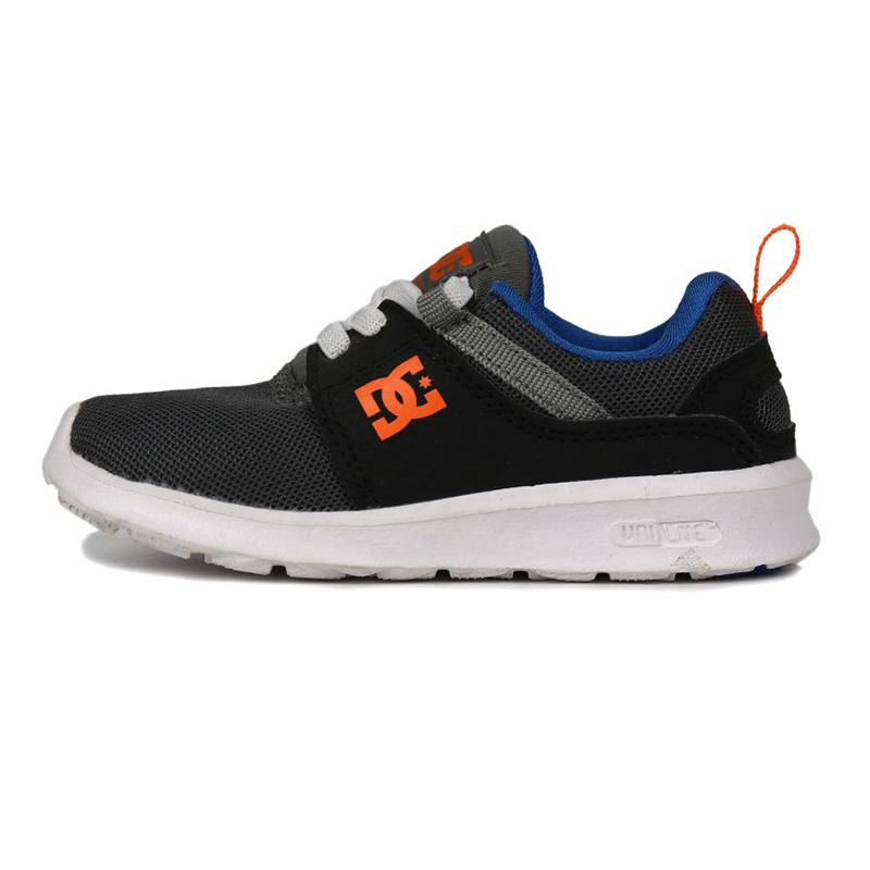 DC HEATHROW T 儿童 舒适透气耐磨时尚潮流休闲鞋运动鞋 ADTS700041GBF