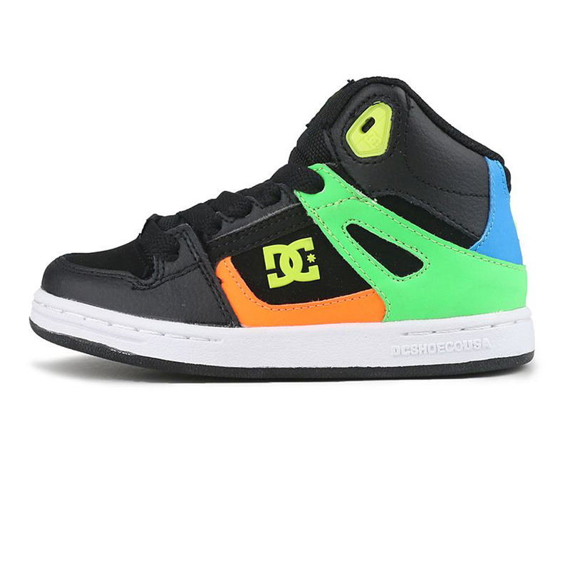 DC PURE HIGH-TOP SE 儿童 休闲鞋  ADBS100244BK5