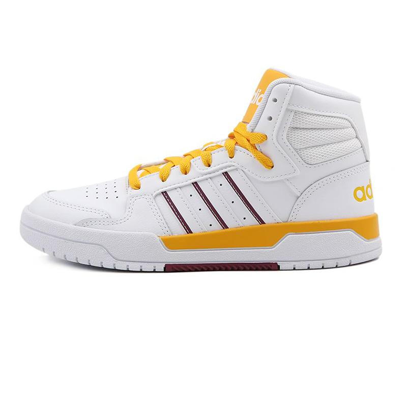 阿迪生活Adidas NEO ENTRAP MID 女鞋 运动鞋复古板鞋透气休闲鞋 FY2960