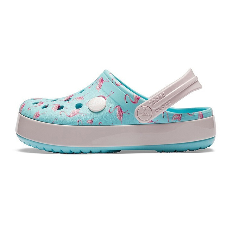 Crocs 卡骆驰 儿童 平底凉鞋205532-737