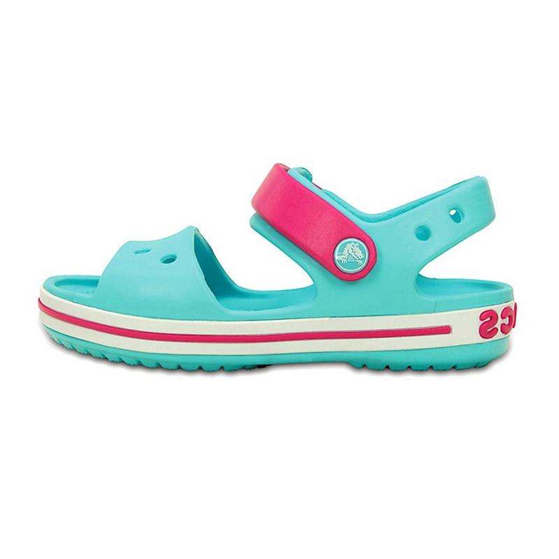 Crocs 卡骆驰 儿童 卡骆班平底沙滩凉鞋 12856S 12856S-4FV