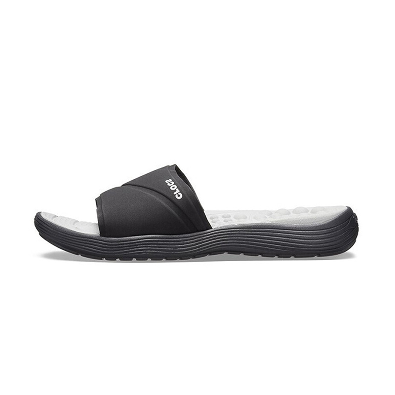 Crocs 卡骆驰 女子 乐唯一字休闲防滑凉拖鞋 205474 205474-060
