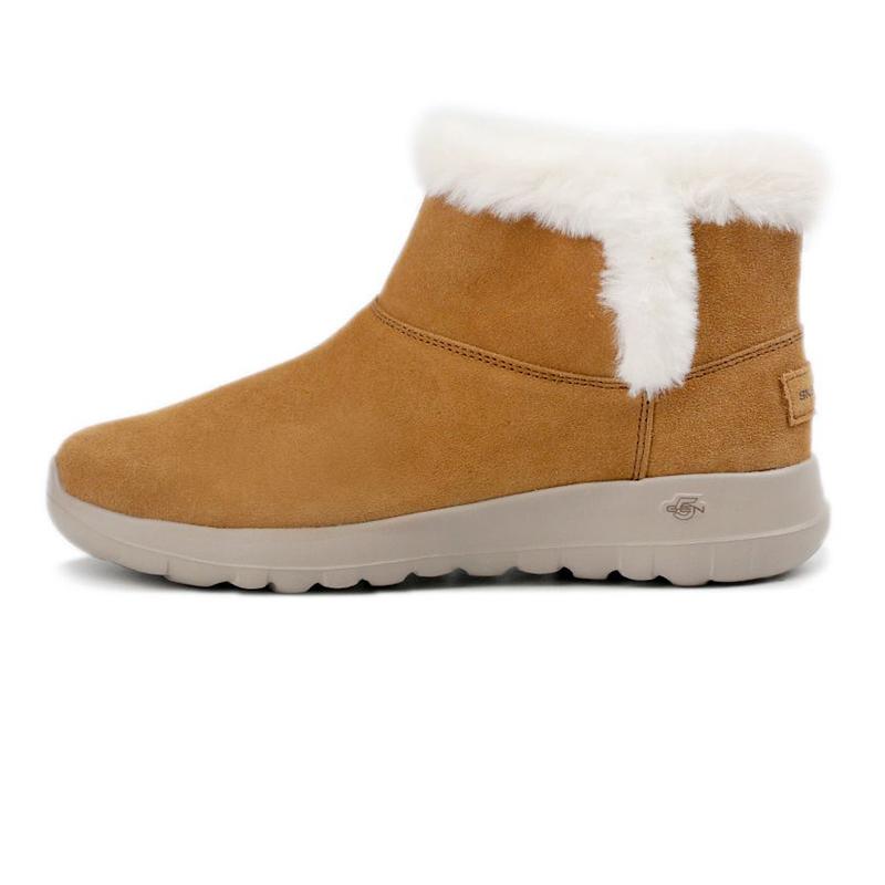 斯凯奇SKECHERS ON-THE-GO JOY 女士 一脚蹬短靴  15501-CSNT