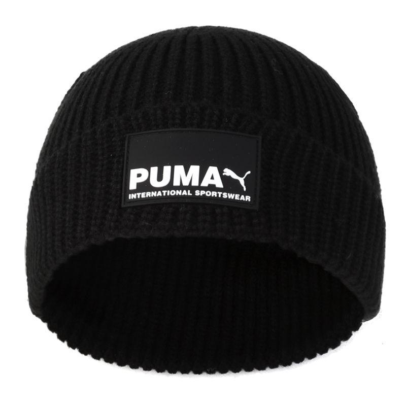 彪马PUMA Progressive Street Beanie 男女 毛线帽针织帽保暖帽 022851-01