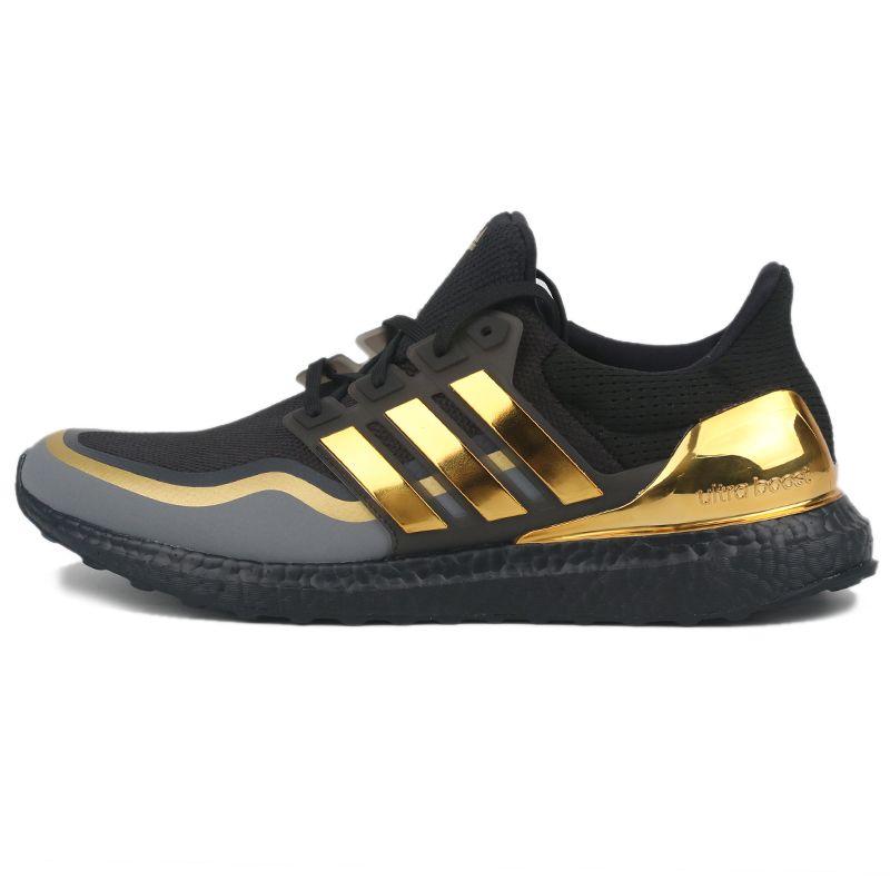 阿迪达斯ADIDAS 男鞋 织物透气减震休闲运动鞋 EG8102
