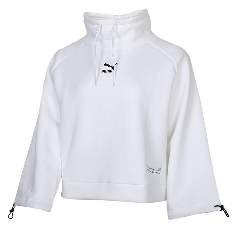 彪马PUMA INTERSTELLAR Funnel-Neck Sweater Wmns 女装 运动休闲套头衫卫衣 530299-02