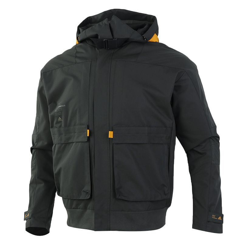 阿迪达斯ADIDAS TH JKT FUNC 男装 运动服防风衣工装休闲外套 GM4398