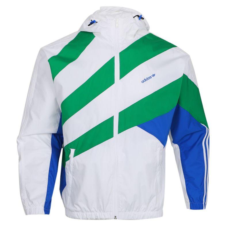 阿迪达斯三叶草ADIDAS SPRT US WB 2 男装 运动休闲梭织夹克外套 GJ6731