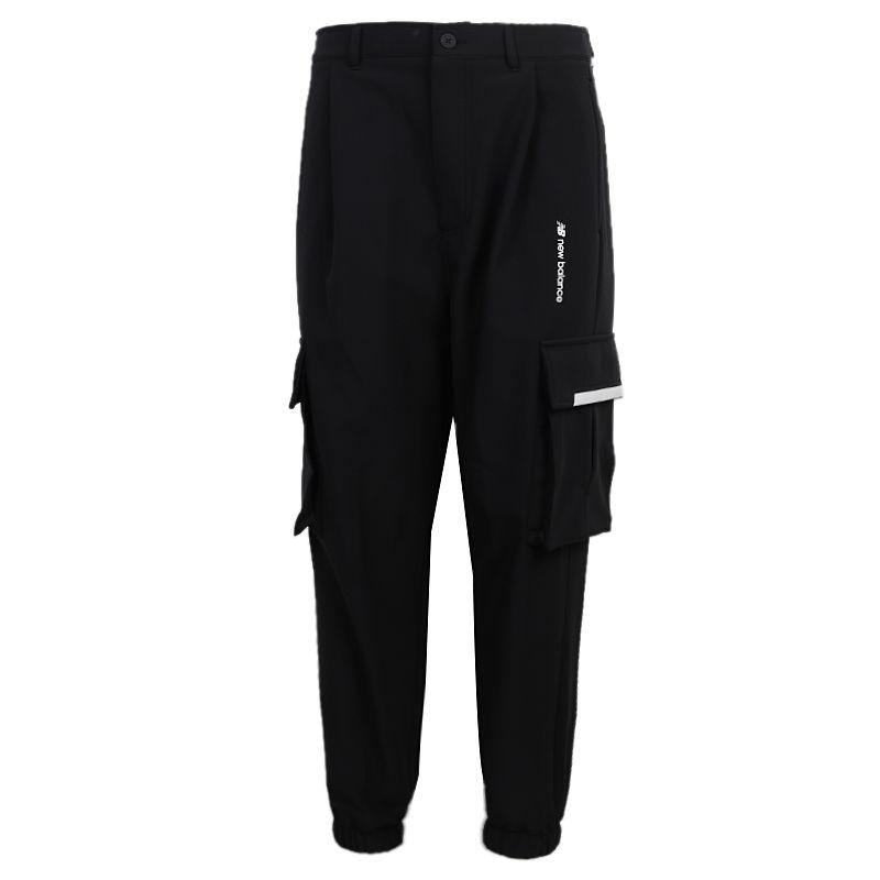 NEW BALANCE 男装 2020新款休闲裤长裤健身训练运动裤 AMP04371-BK