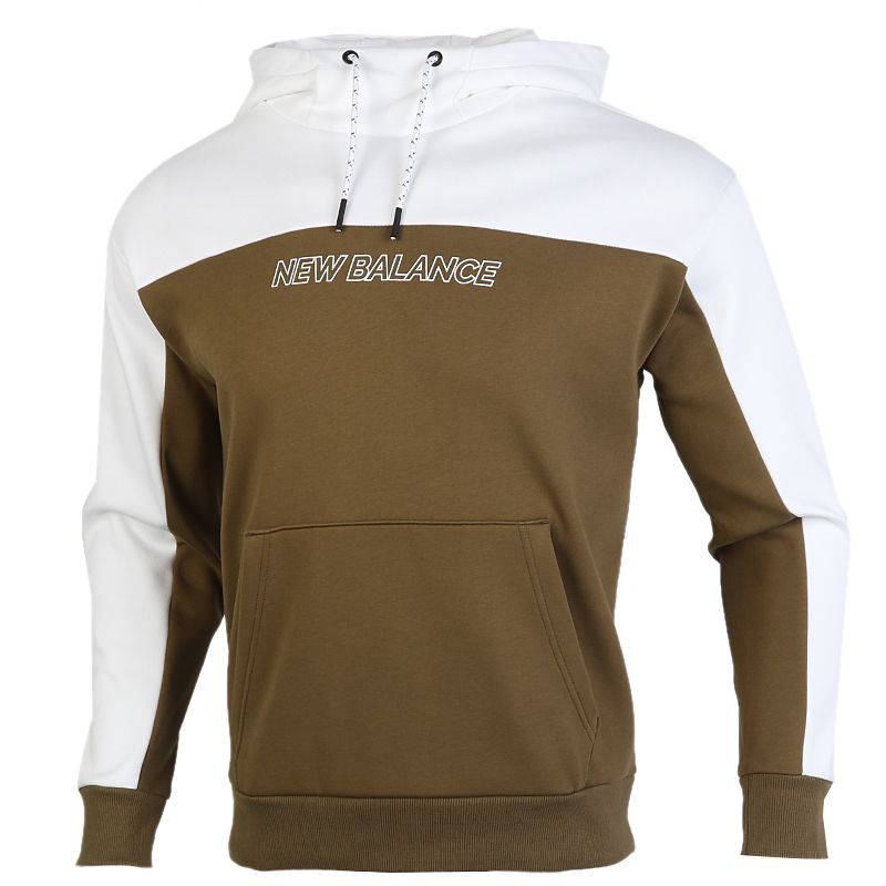 NEW BALANCE 男装 套头衫运动服连帽卫衣 AMT04368-OV