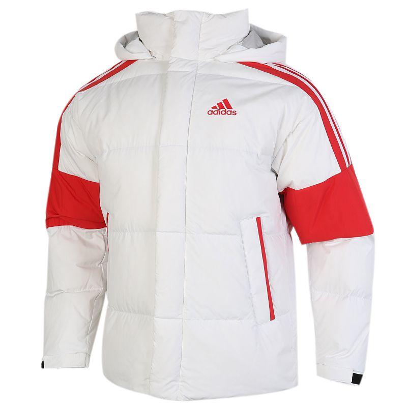 阿迪达斯ADIDAS 3ST PUFF DOWN J 男女 户外运动保暖防风舒适休闲外套羽绒服 GF0106