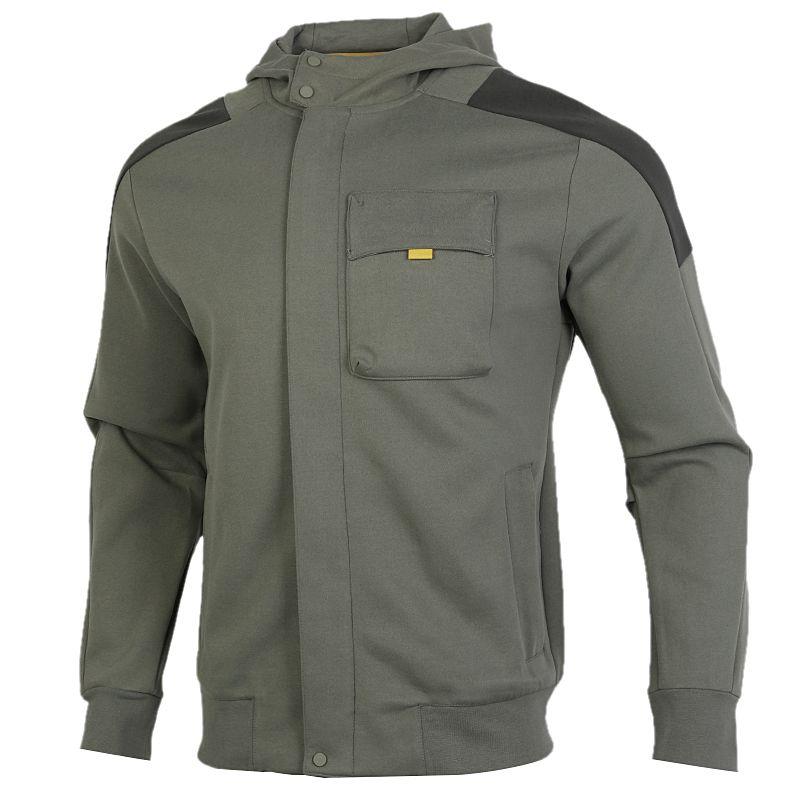 阿迪达斯ADIDAS TH HTT PEACH 男装 夹克外套 针织连帽夹克 GM4421