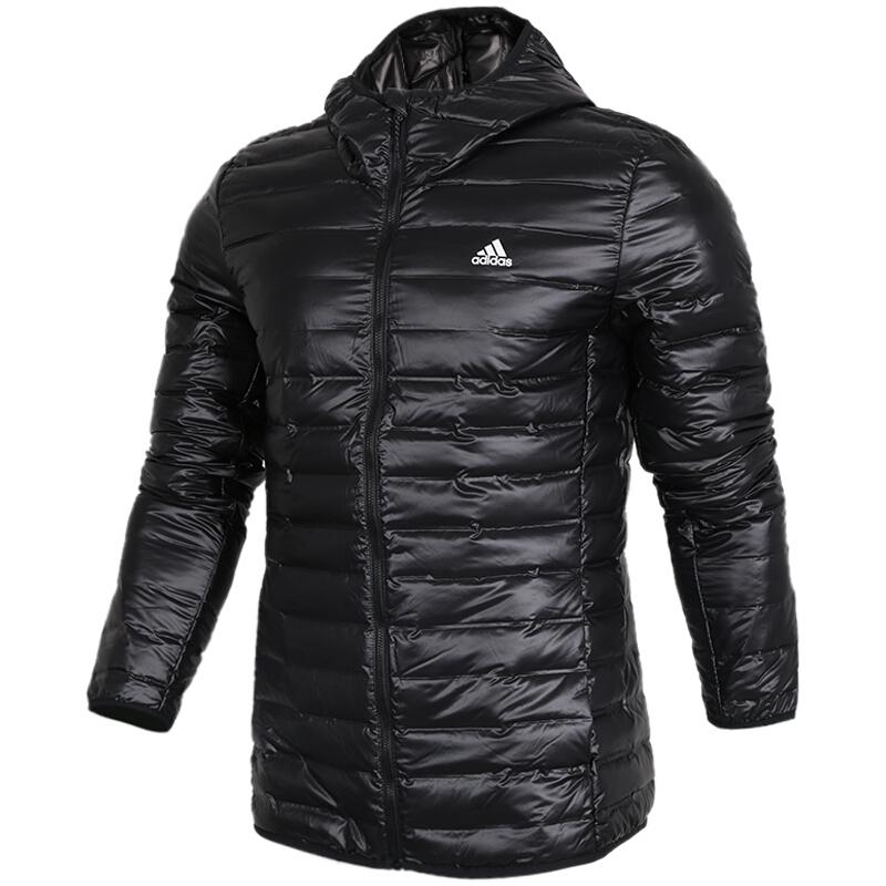 阿迪达斯ADIDAS 男装 新轻薄立领保暖羽绒茄克 BS1588
