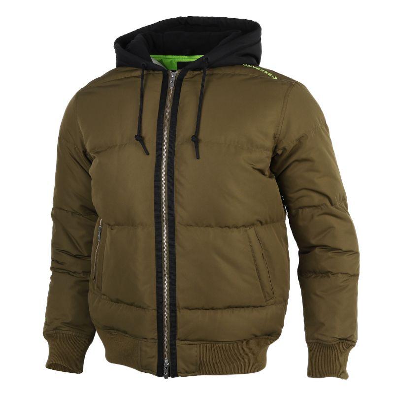 匡威CONVERSE  男装 2020冬季新款户外运动防风舒适休闲外套保暖羽绒服 10019992-A02