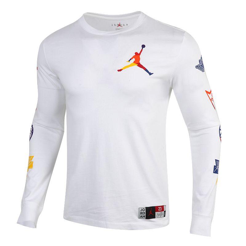 耐克NIKE AS NFS  J SPRTDNA HBR LS CREW 男装 运动休闲舒适T恤 DA6763-100