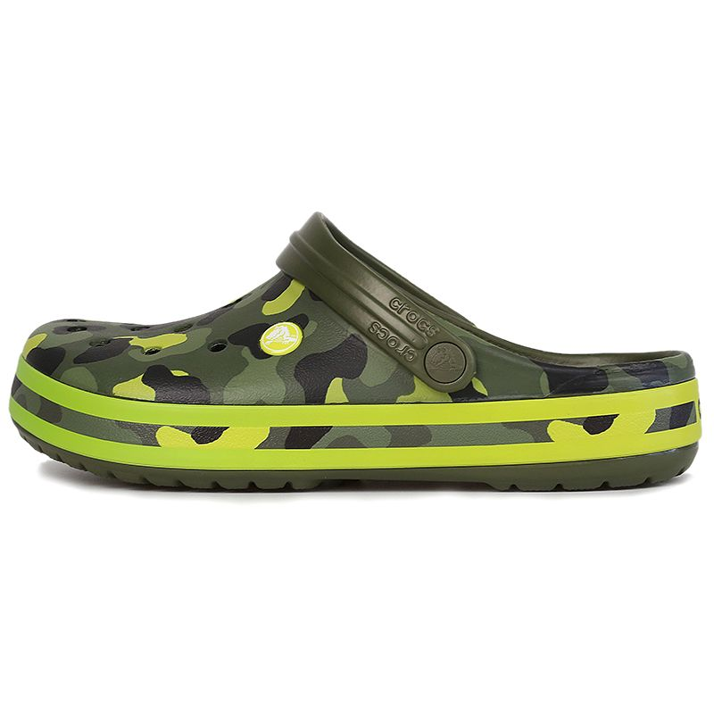 卡骆驰Crocs 男女 卡骆班花纹克洞洞凉鞋凉鞋拖鞋 205579-30L