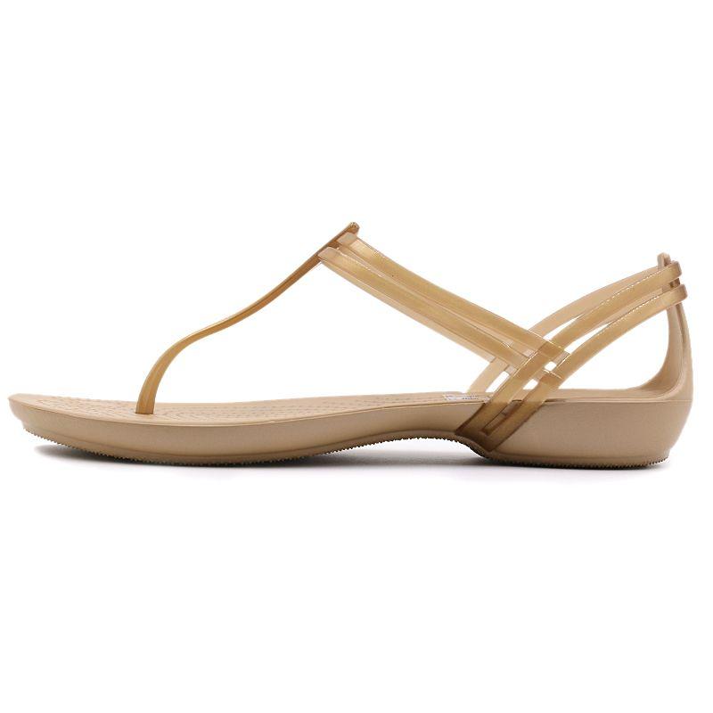 卡骆驰Crocs 伊莎贝拉T型凉鞋 女鞋 凉拖鞋 凉鞋 202467-854