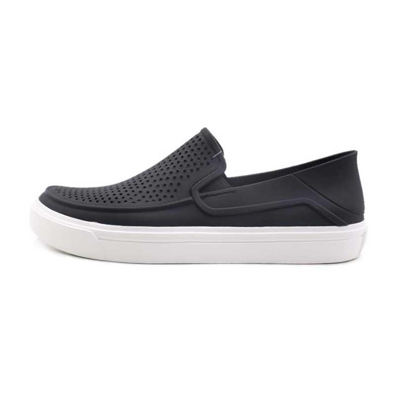 卡骆驰Crocs 女士都会街头洛卡便鞋 女鞋 休闲板鞋 休闲鞋 204622-001